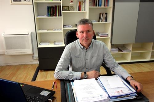 Ravnatelj - Mladen Kamenjarin, dipl.ing.